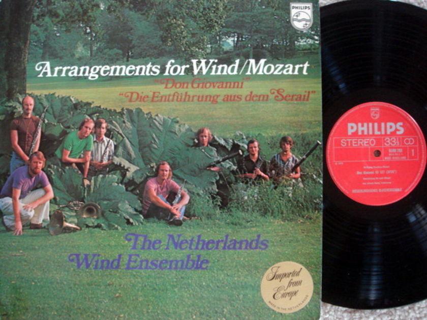 Philips / NATHERLANDS WIND ENSEMBLE, - Mozart Arrangeements for Wind, MINT!