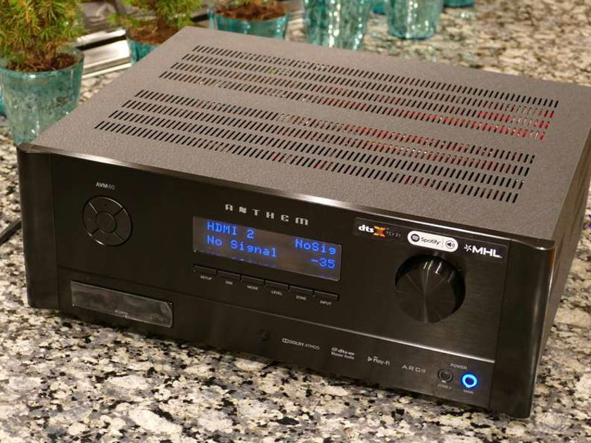 Anthem AVM-60 Dolby Atmos Home Theater Processor