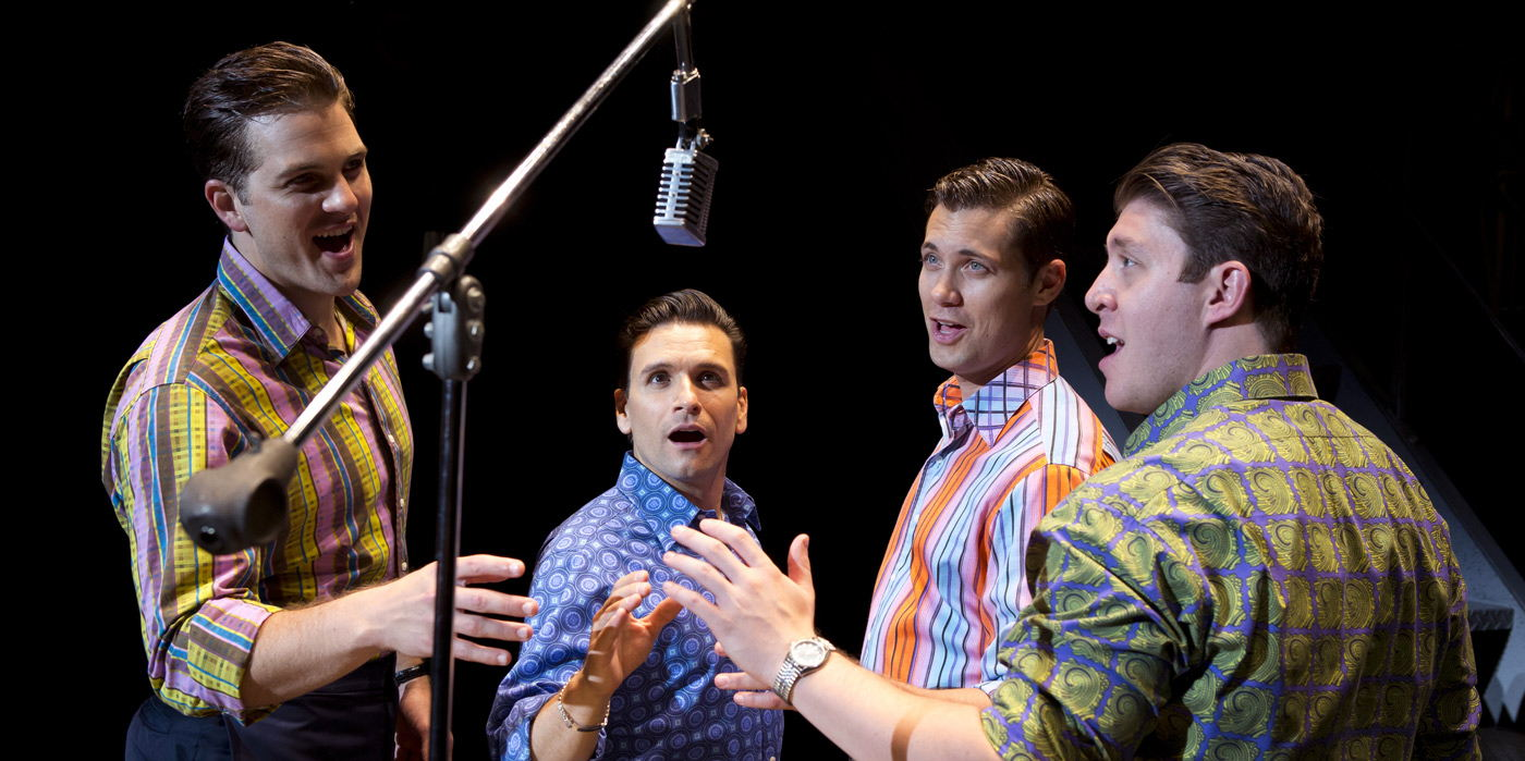 Jersey Boys at the Shubert Theatre