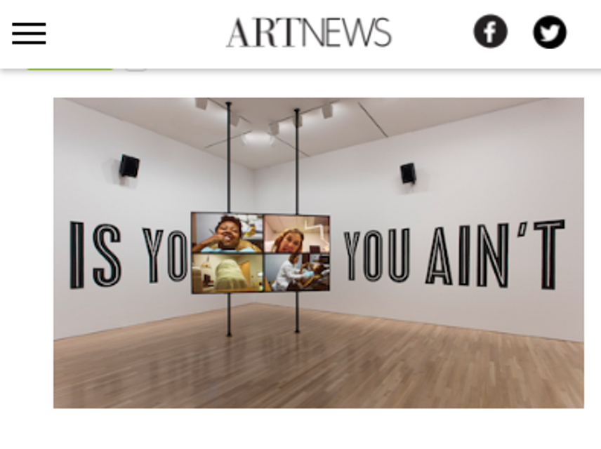ArtNews, San Antonio Museum of Art, Kevin Beasley