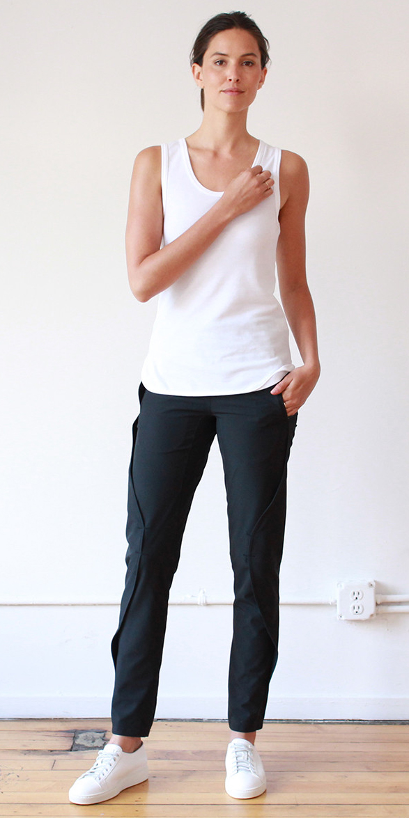 PURITY - GO ANYWHERE ELEGANT EXCEPTIONALLY COMFORTABLE PANT BLACK