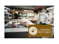Private Handbuilding Lesson for Two at La Mano Pottery