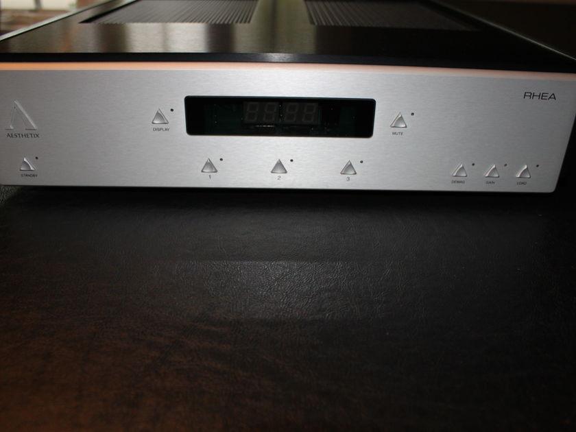 Aesthetix Rhea Signature Phono Preamplifier