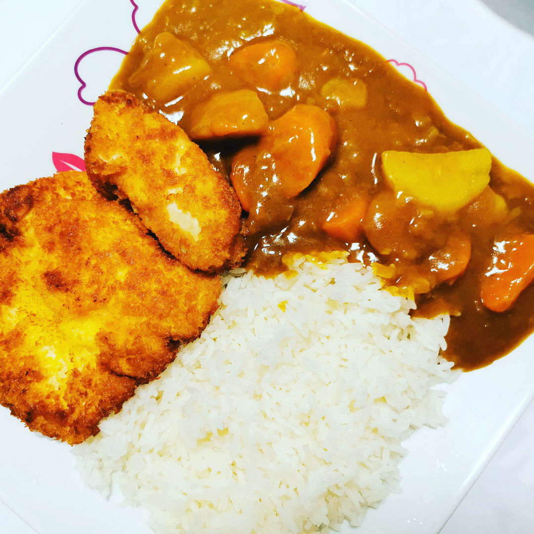 Japanese Curry with Chicken Katsu