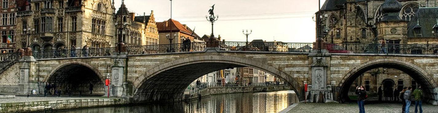 Антверпен, Гент или Мехелен. Обзорная экскурсия на автомобиле из Брюсселя с частным гидом