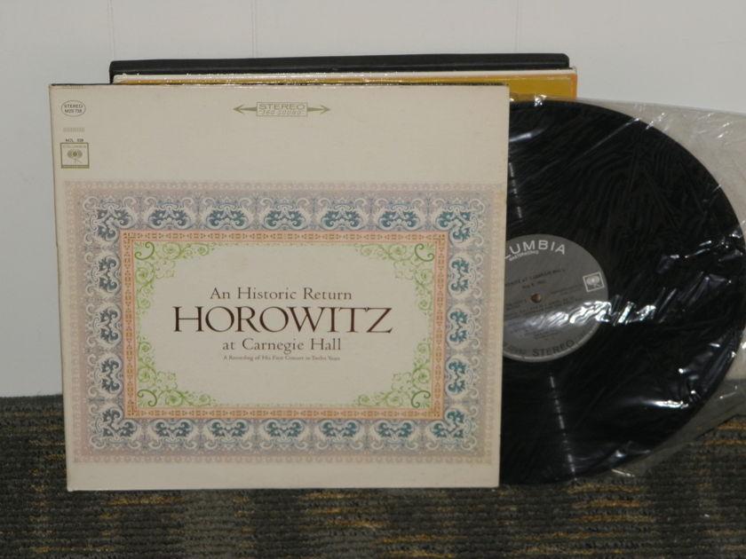 "Vladimir Horowitz - Bach+Schumann+Scriabin+Debussy+more Columbia M2S 729 360""First Black Print labels"" 2LP"