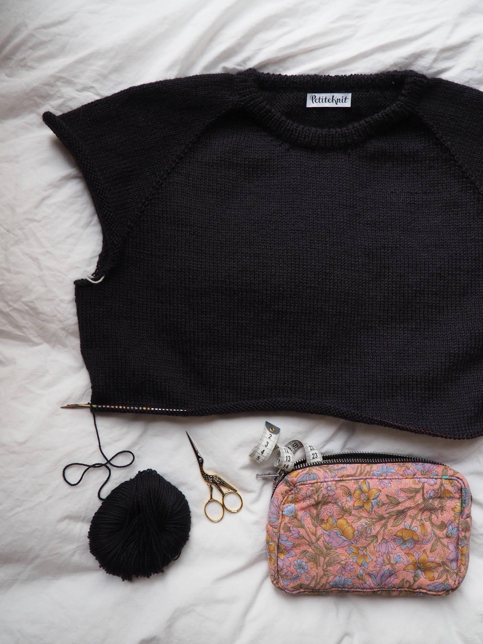 Hanstholm Sweateren en k u00e6rlighedserkl u00e6ring på jysk u2013 PetiteKnit