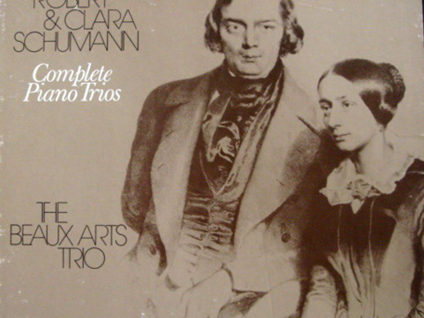 Philips / BEAUX ARTS TRIO, - Schumann Complete Piano Trios, MINT, 2LP Box Set!
