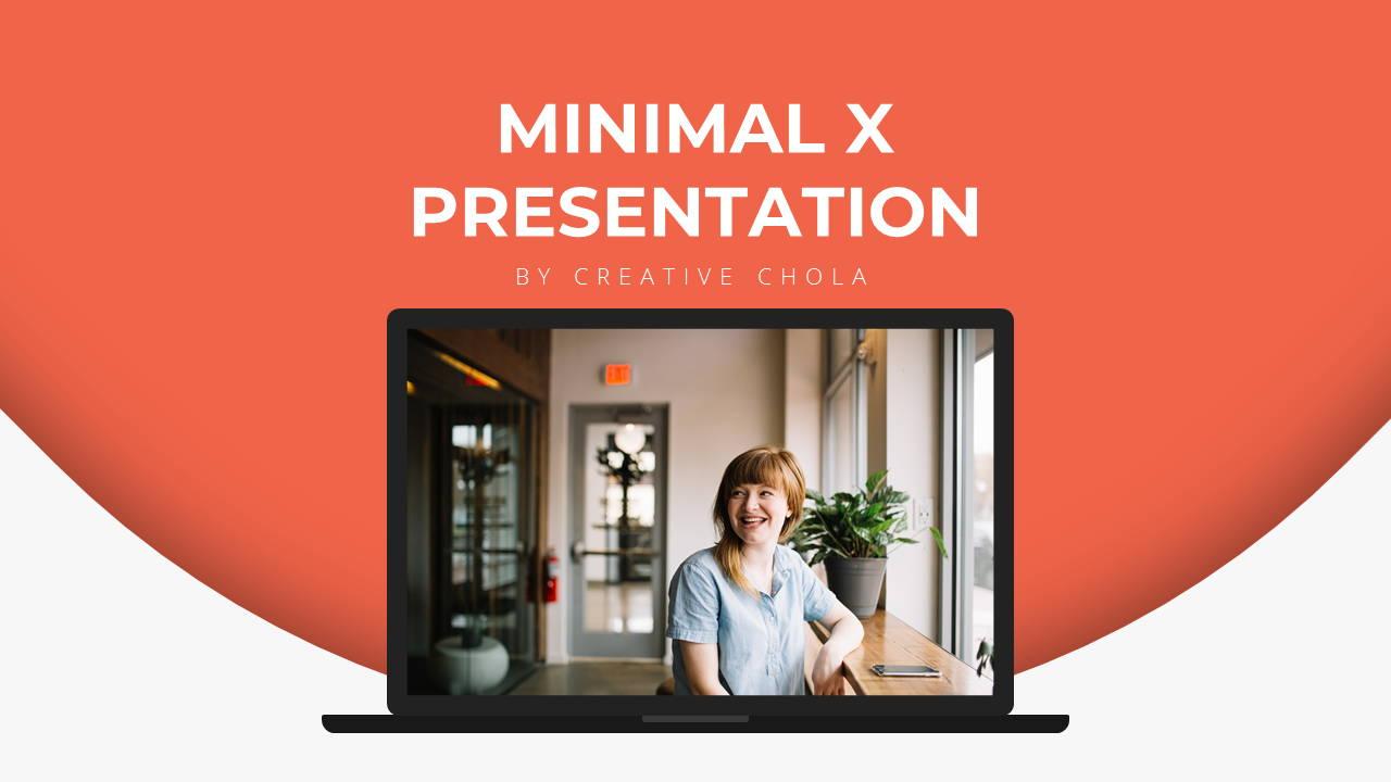 Modern X App/Software Showcase Presentation Template Title Page