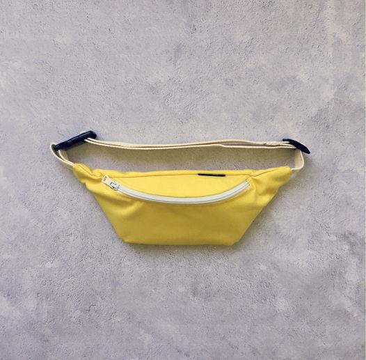 Поясная сумка Лимонно-банановая