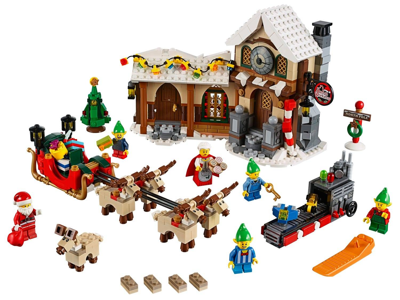 Santa's Lego Workshop Town