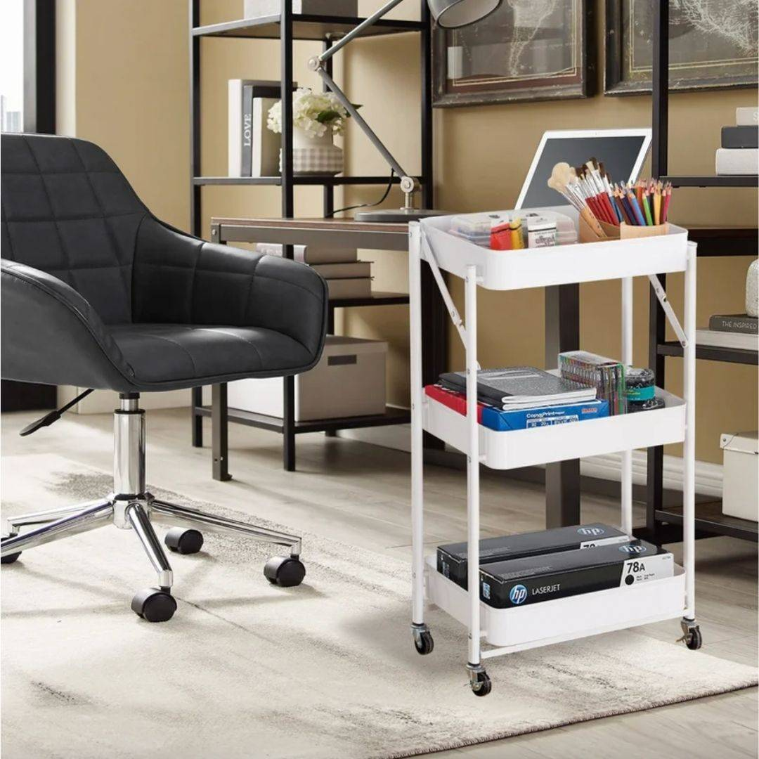 painting storage rack, office shelf, office trolley