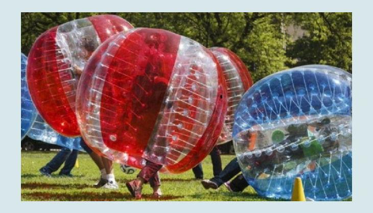 nbg bubble soccer spiel