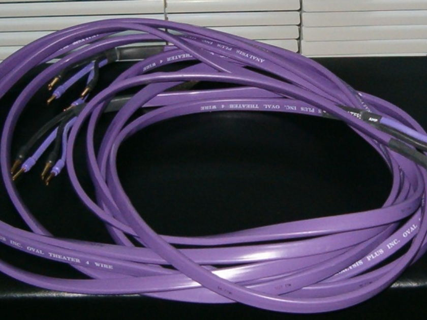 Analysis Plus Oval Theater 4 Speaker Wire