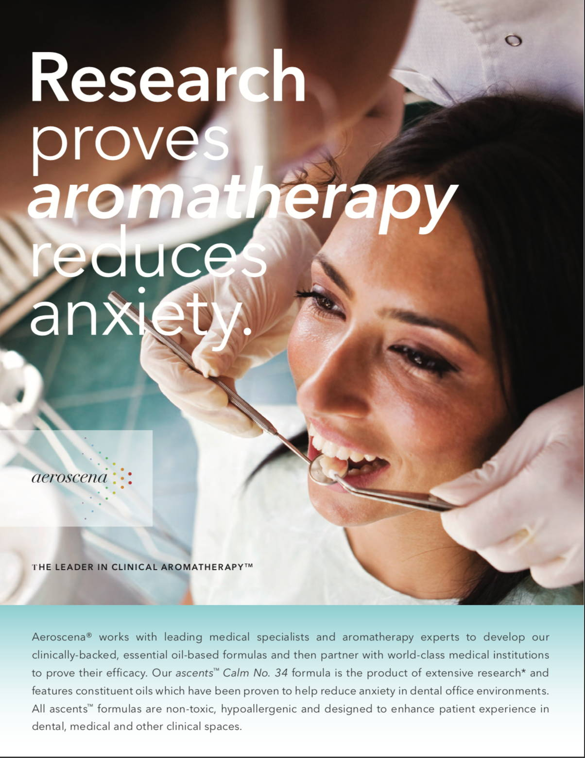 dental aromatherapy brochure