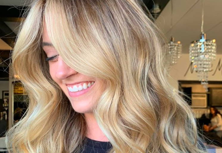 Thick hair hacks add highlights