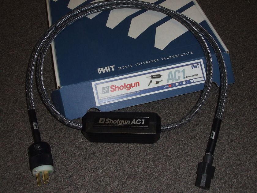 MIT Shotgun AC1 Power Cord, 2 meter