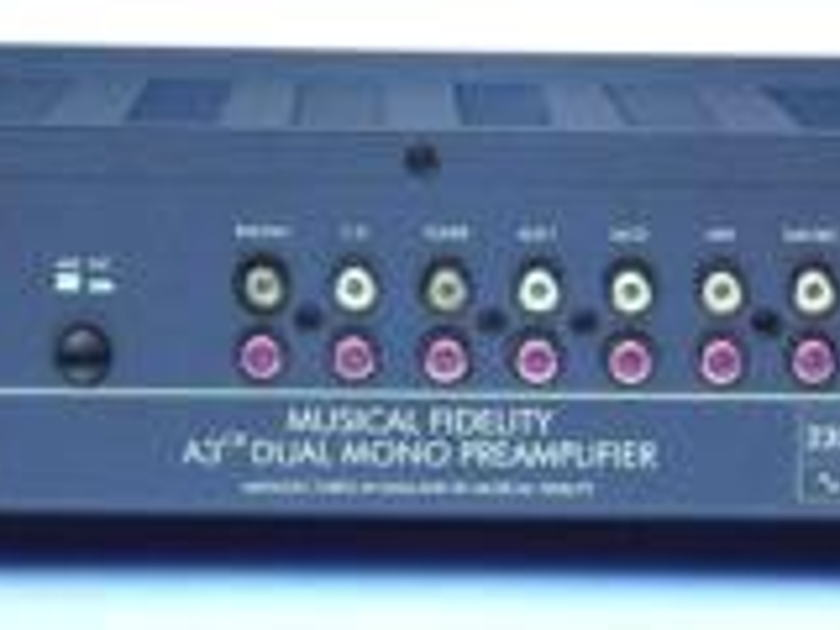 Musical Fidelity A3cr Preamplifier