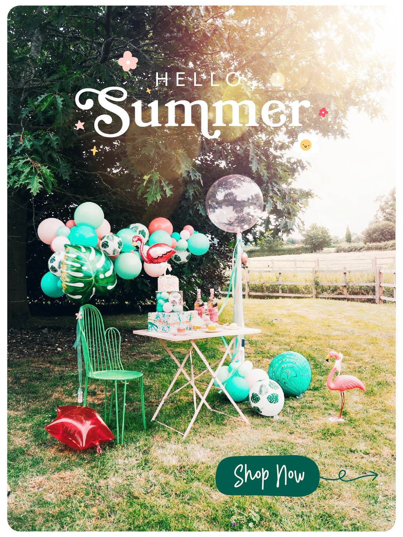 Hello Party Modern Stylish & Luxury Party Supplies Ballon Cloud Garland Arch DIY Kit