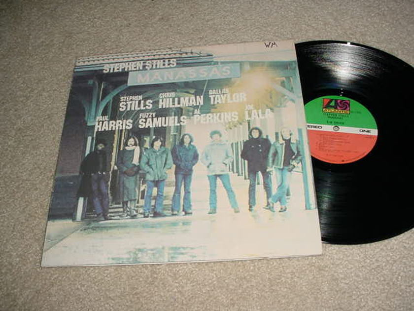 STEPHEN STILLS - MANASSAS DOUBLE LP RECORD