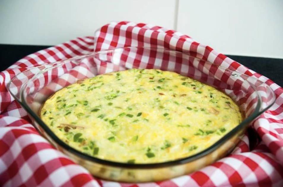 Keto Oven Baked Denver Omelette