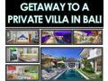 Luxurious Bali Villa for 8