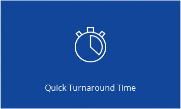 Image for Quick Turnaround Time CTA