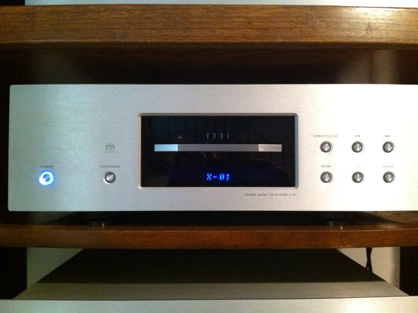Esoteric X-01 CD/Super Audio player