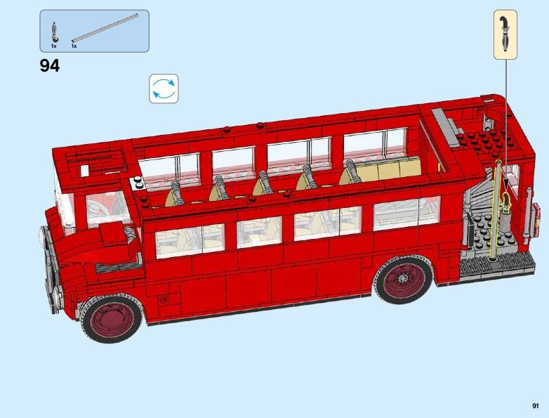 LEGO London Bus 10258 instructions