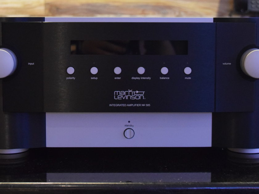 Mark Levinson No 585 Stereophile Rated Class-A Integrated Amp