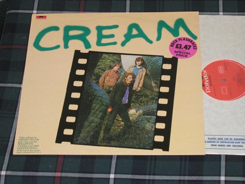 "Cream - ""FRESH CREAM"" UK Import UK import  Polydor from 70's"