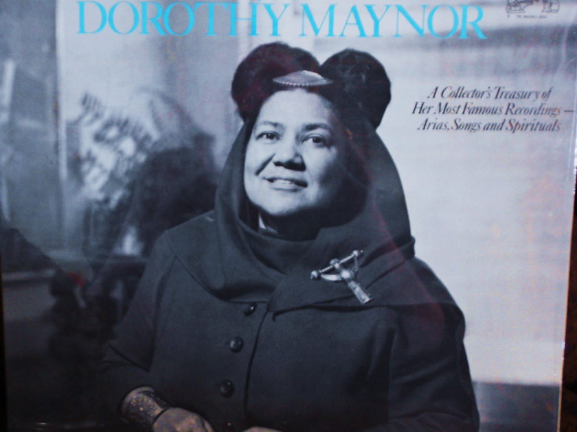 FACTORY SEALED ~ THE ART OF DOROTHY MAYNOR ~  - ARIA, SONGS & SPIRITUALS~DEBUSSY RCA LM 3086 (1969)