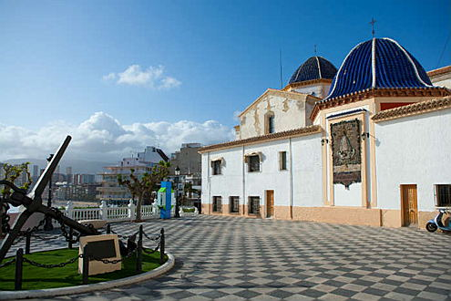 Benidorm, Costa Blanca - Saint James and Saint Anne church benidorm.jpg