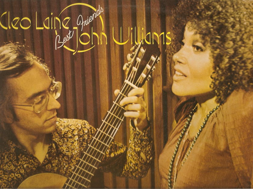 CLEO LAINE & JOHN WILLIAMS - CLEO LAINE BEST FRIENDS JOHN WILLIAMS