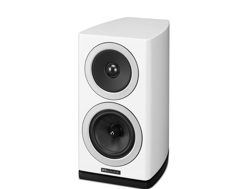 WHARFEDALE Reva-1 Loudspeakers (White):  Manufacturer Refurbished; Full Warranty; 45% Off