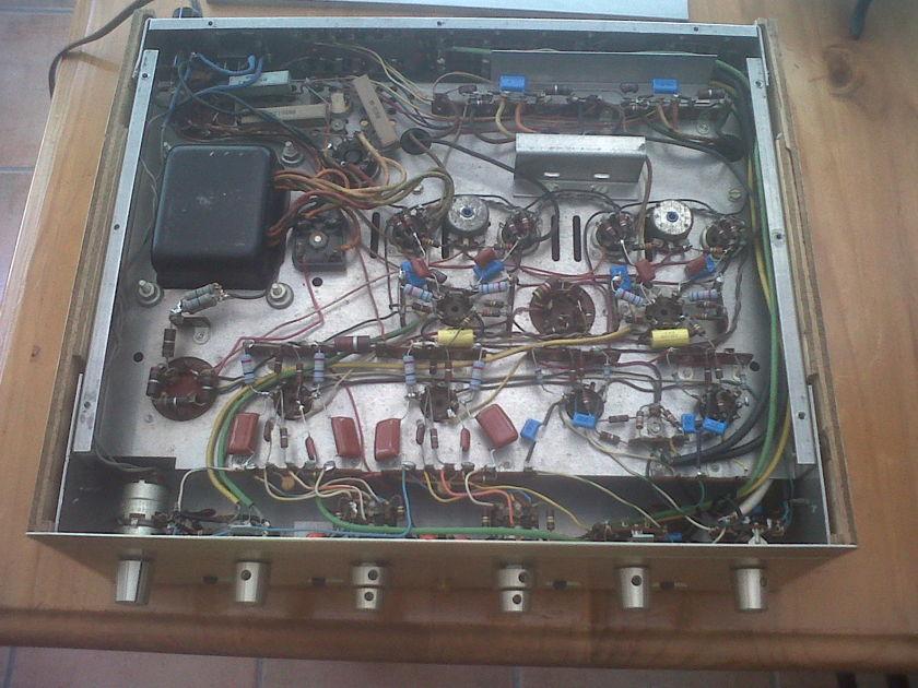Scott LK48 tube integrated  Refurbished and including cabinet