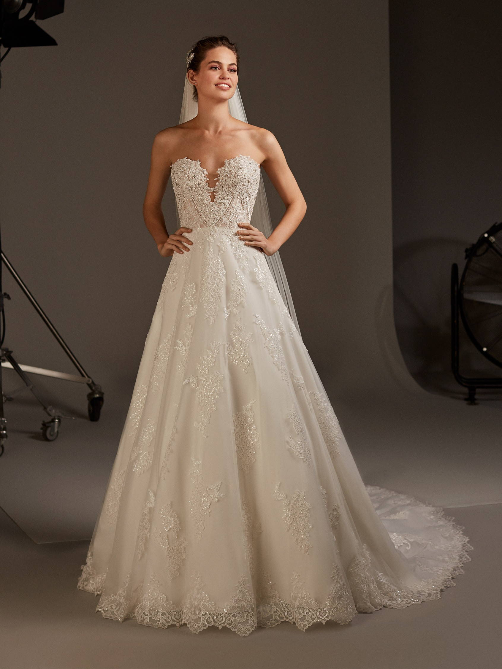 PRONOVIAS NAMAKA WEDDING DRESS