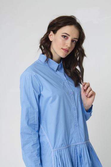 Платье-рубашка свободного кроя CAURIS