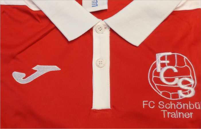 Poloshirts mit Firmen oder Vereinslogo besticken lassen