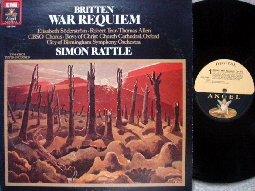 EMI Angel Digital / RATTLE,  - Britten War Requiem,  NM, 2LP Set!