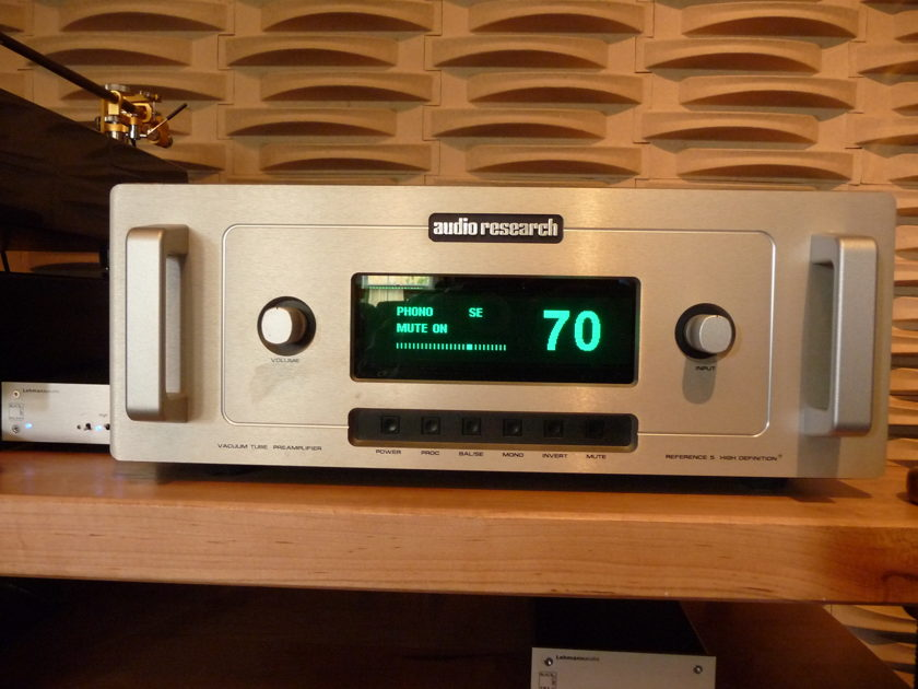 Audio Research Reference 5 Preamp Silver