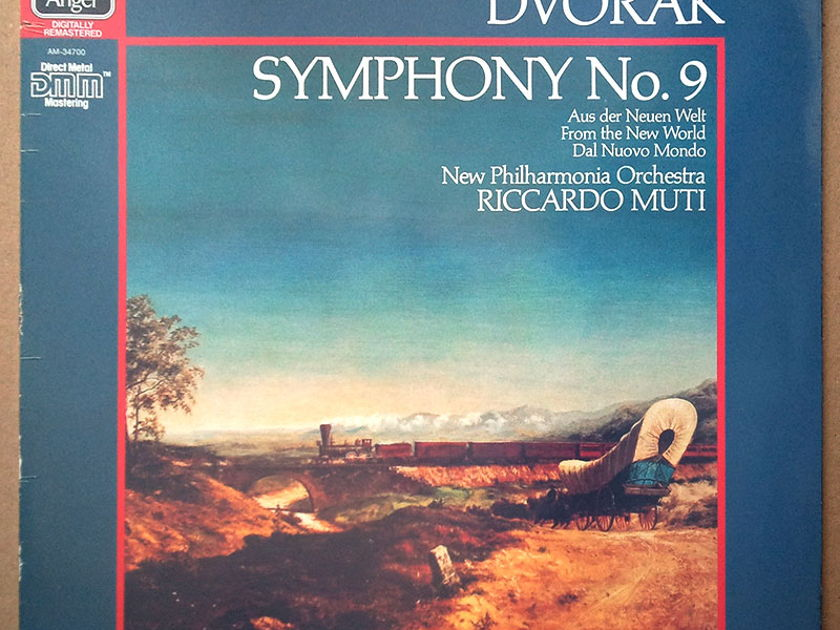 Sealed EMI Digital | MUTI/DVORAK - Symphony No.9 From the New World / German Pressings
