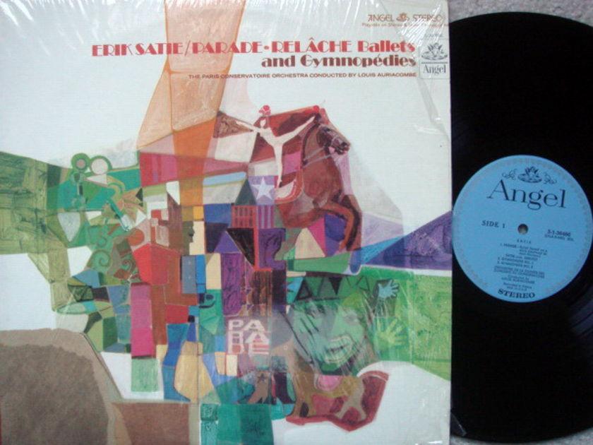 EMI Angel Blue / AURIACOMBE, - Satie Gymnopedies, Parade, MINT!