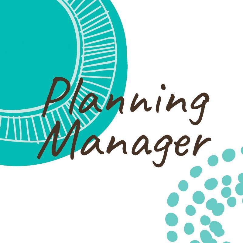 planning manager job