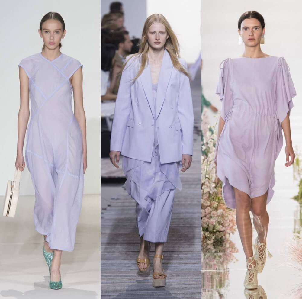 New York Fashion Week Spring 2018 Collection, Lavender