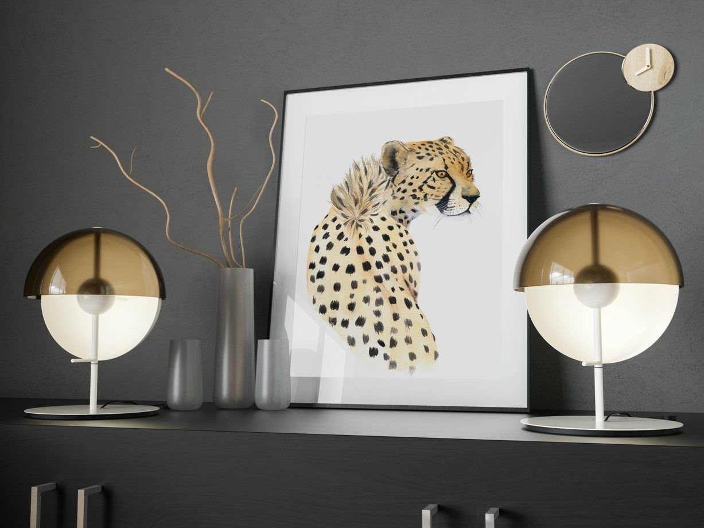 "Постер ""Дерзкий гепард"""