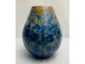 Indigo Crystalline Vase
