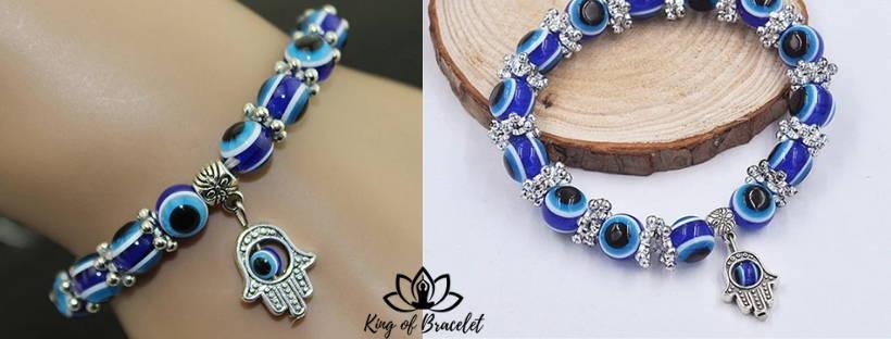 Bracelet Mauvais Oeil Bleu Grec - King of Bracelet