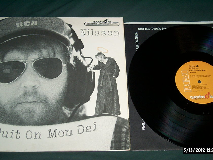Harry Nilsson - Duit On Mon Dei cd-4 quadradisc lp nm