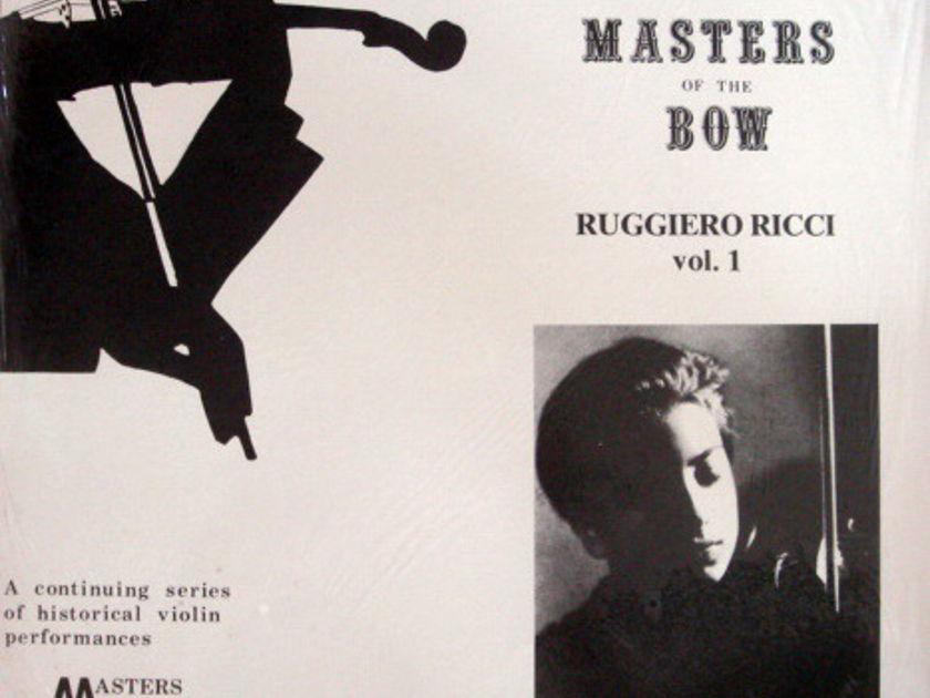 ★Sealed★ Discopaedia /  - RUCCIERO RICCI, Master Of Bow Vol.1!